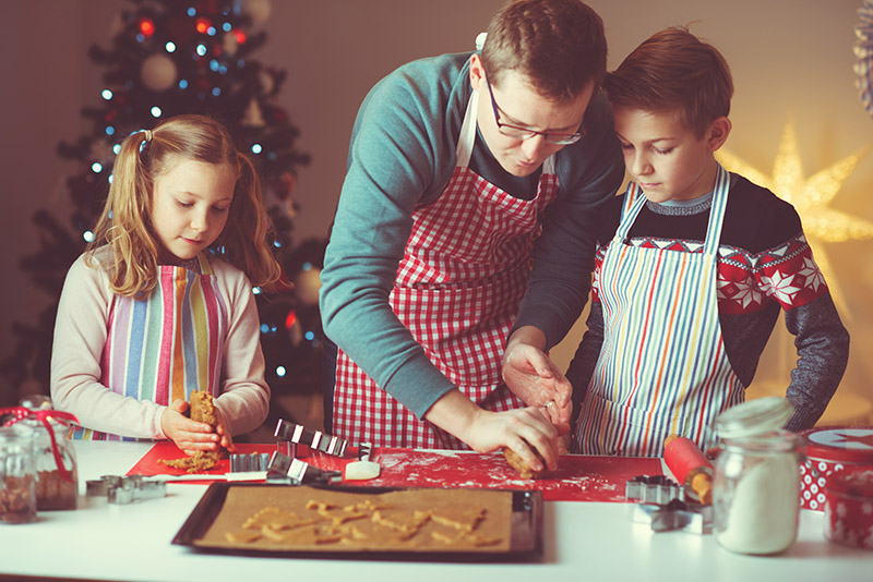 Holiday Cooking with Your Foster Children